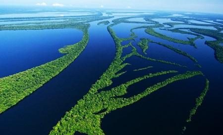 แม่น้ำที่กว้างที่สุดในโลก