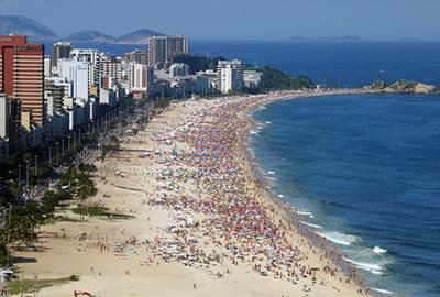 ชายหาดในประเทศบราซิล