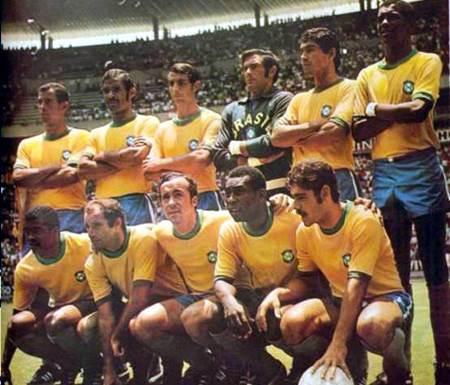นักเตะบราซิล ชุดแชมป์ฟุตบอลโลกปี 1970