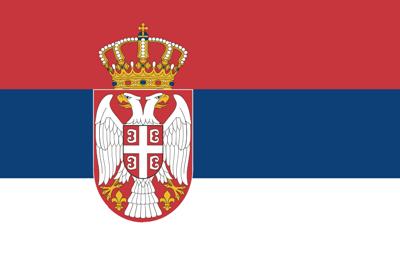ธงชาติประเทศเซอร์เบีย
