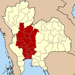 ภาคกลางของไทย