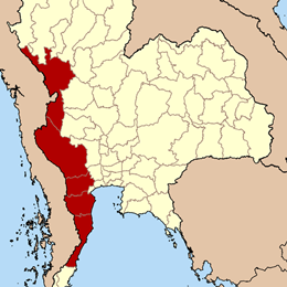 ภาคตะวันตกของไทย