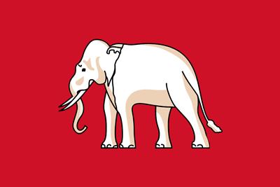 ธงชาติไทยช่วงปี พ.ศ. 2398 - 2459