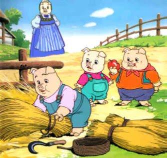 ลูกหมูสามตัว