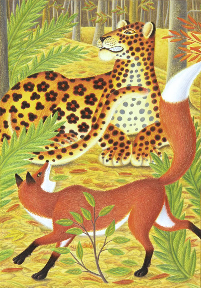 the-fox-and-the-leopard