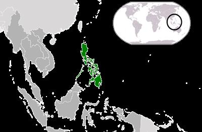 แผนที่ประเทศฟิลิปปินส์