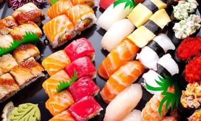 อาหารคลีน - ซูชิ
