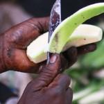 วิธีขจัดยางกล้วย