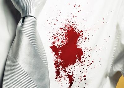 วิธีขจัดคราบเลือดบนเสื้อผ้า