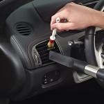 การทำความสะอาดภายในรถ