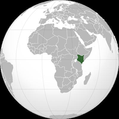 ตำแหน่งของประเทศเคนยา