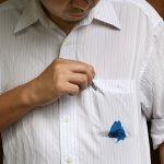 วิธีขจัดรอยเปื้อนหมึกบนเสื้อผ้า