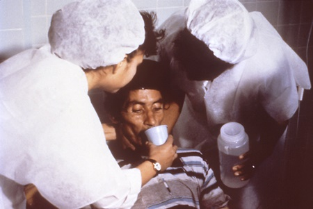 ผู้ป่วยโรคห่า
